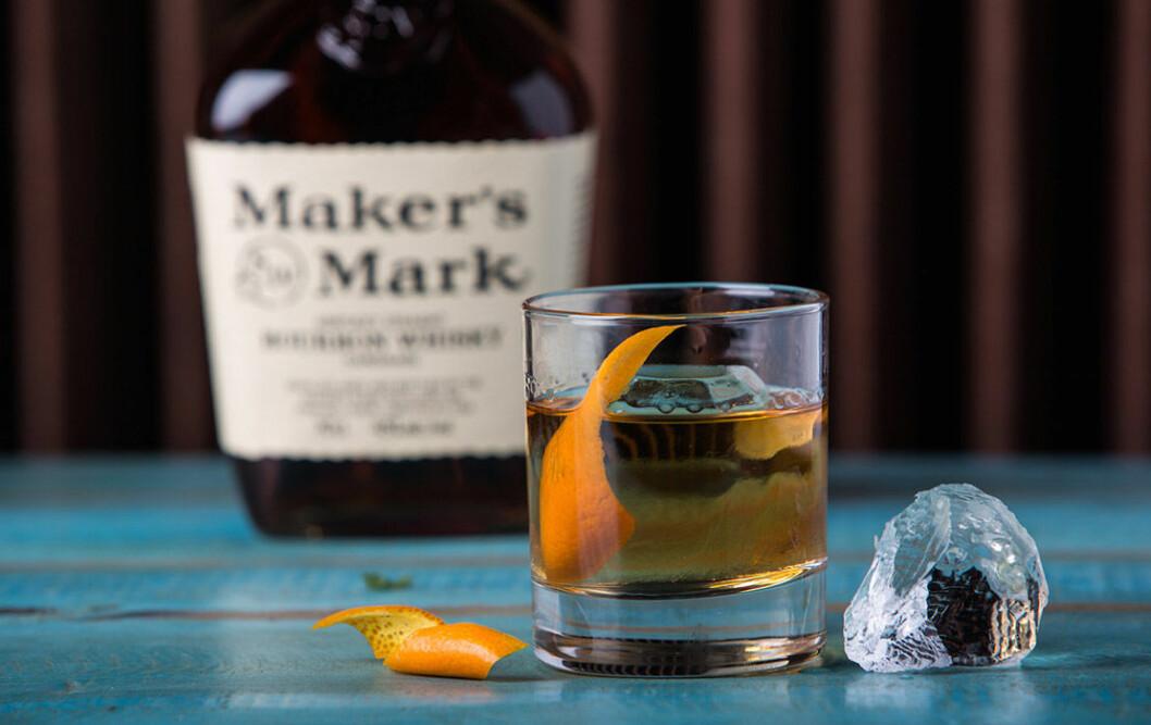 Old Fashioned med Maker's Mark.