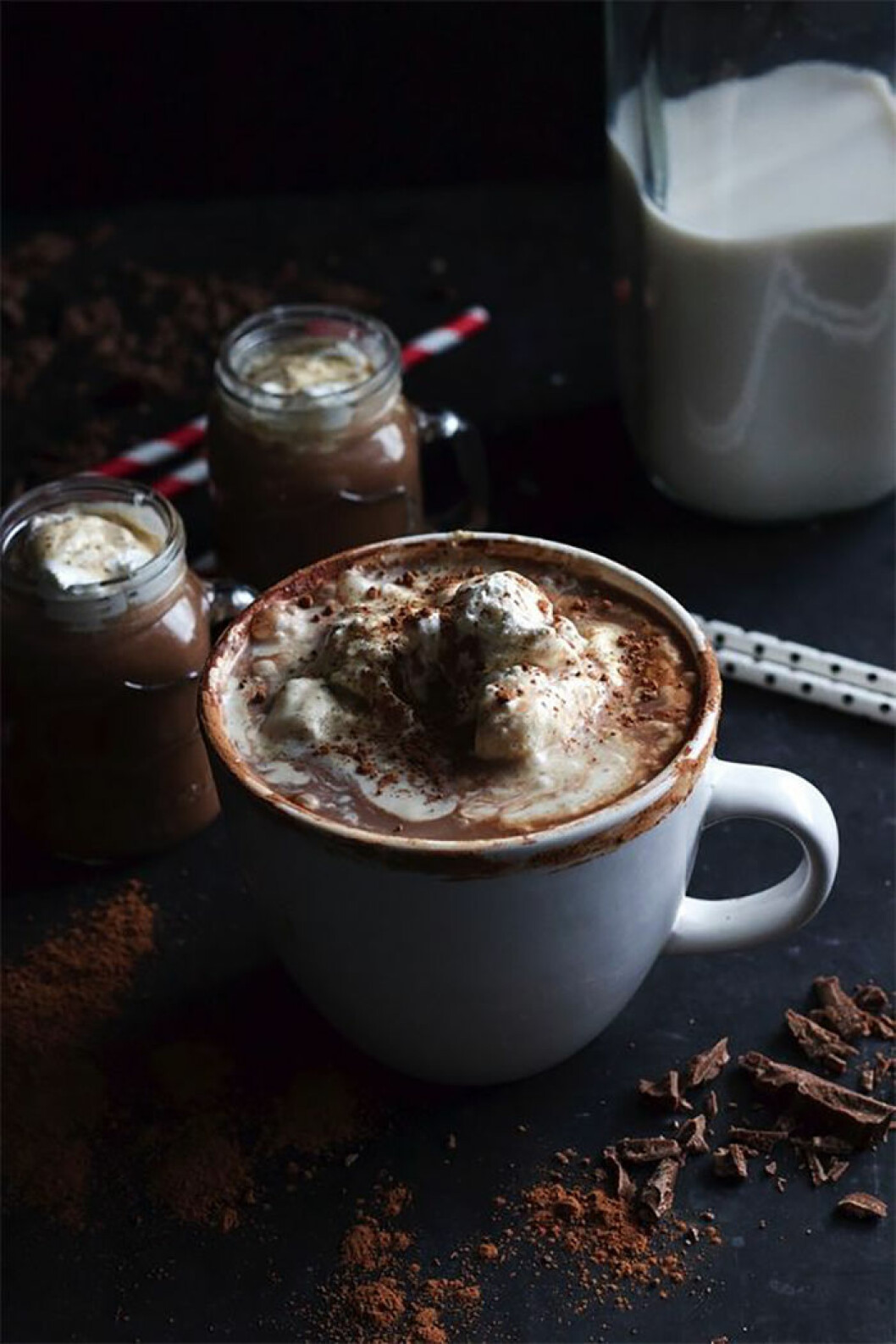 bourbon varm choklad