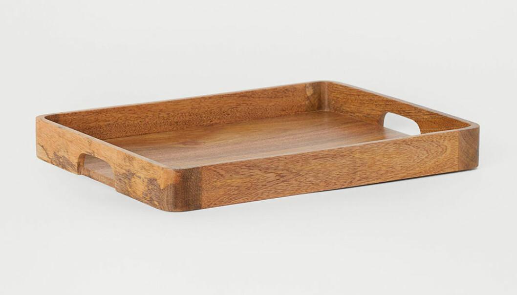 bricka i trä från H&M Home