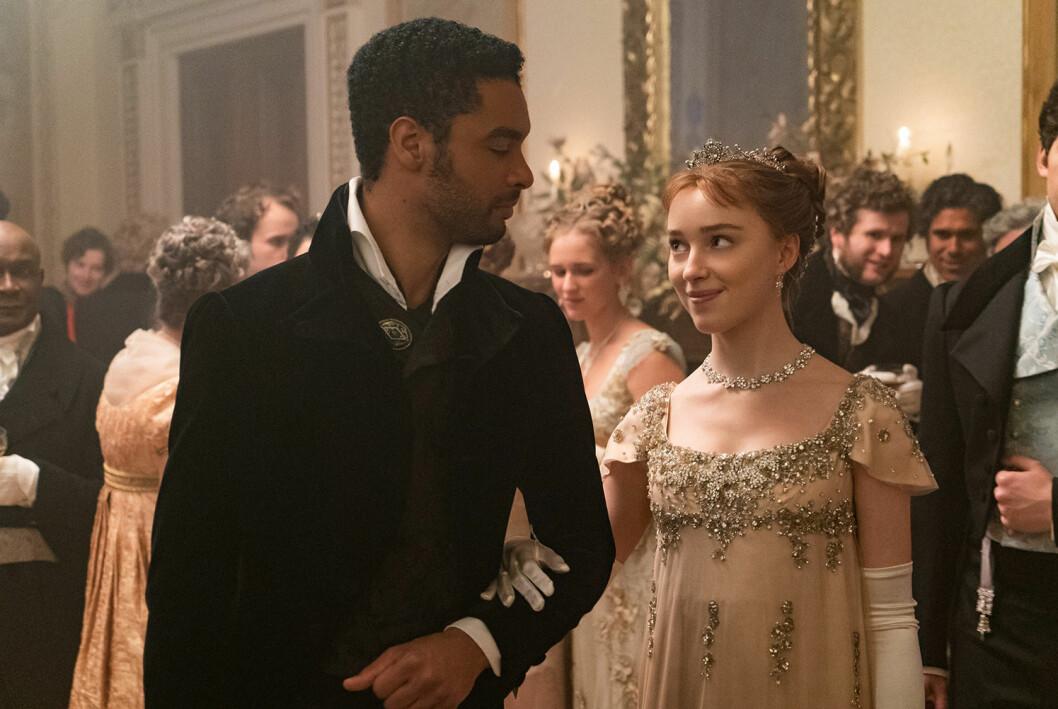 Bridgertons andra säsong kommer dra paralleller till Meghan och Harry!