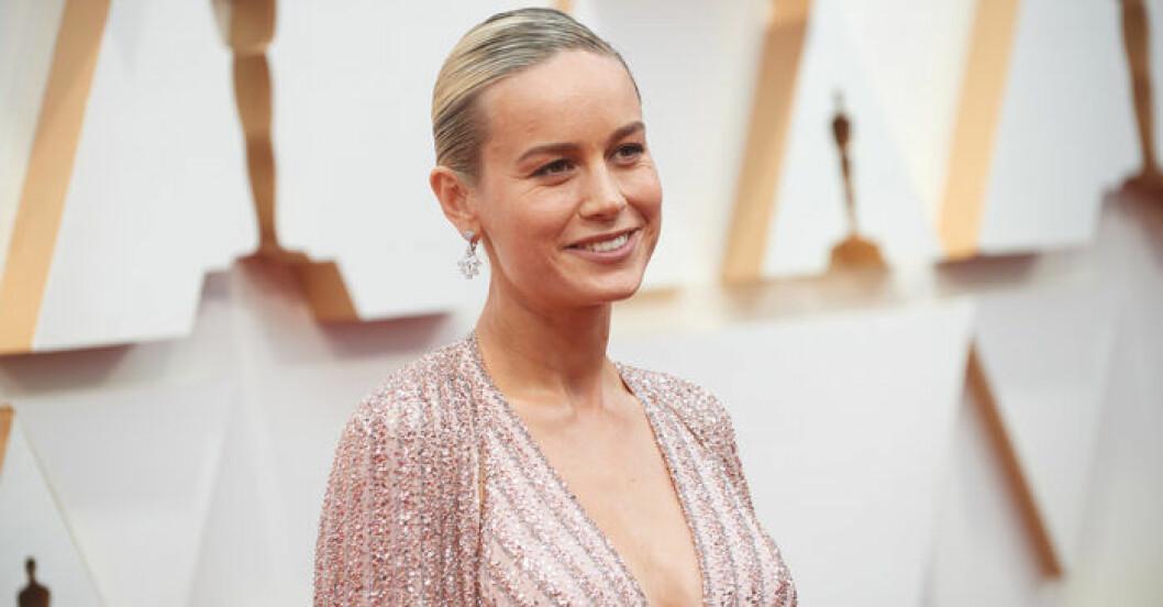 Brie Larson på röda mattan