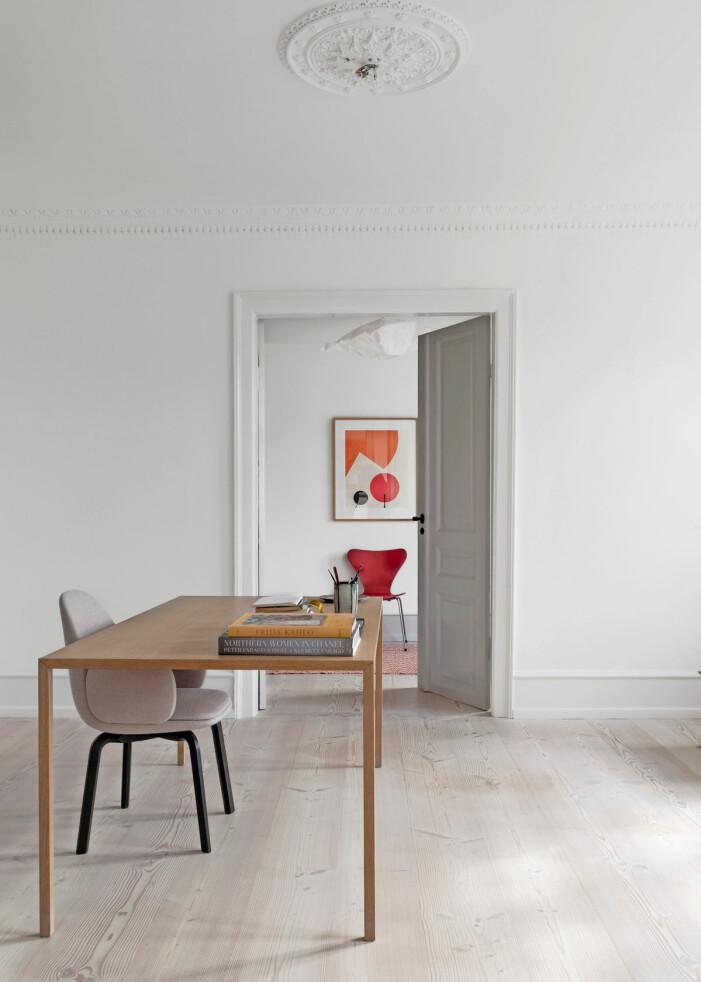 Hemma hos Britt Sisseck i Köpenhamn kontor stol sjuan