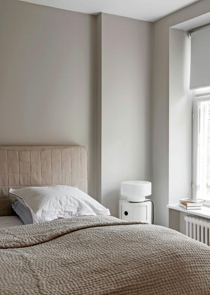 Hemma hos Britt Sisseck i Köpenhamn sovrum