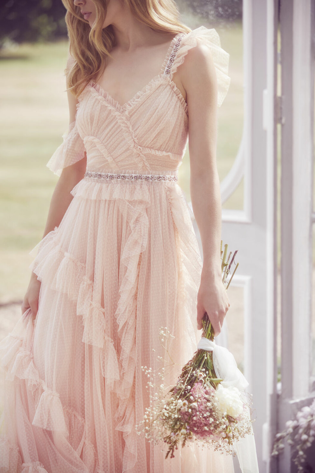 Needle&Thread bröllopstrender rosa