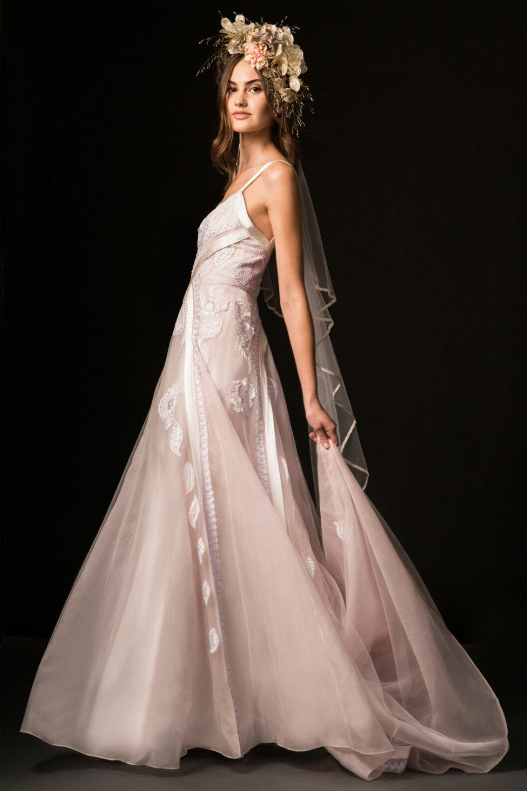 bröllopstrender rosa