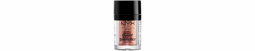 Bronsigt glitter från NYX