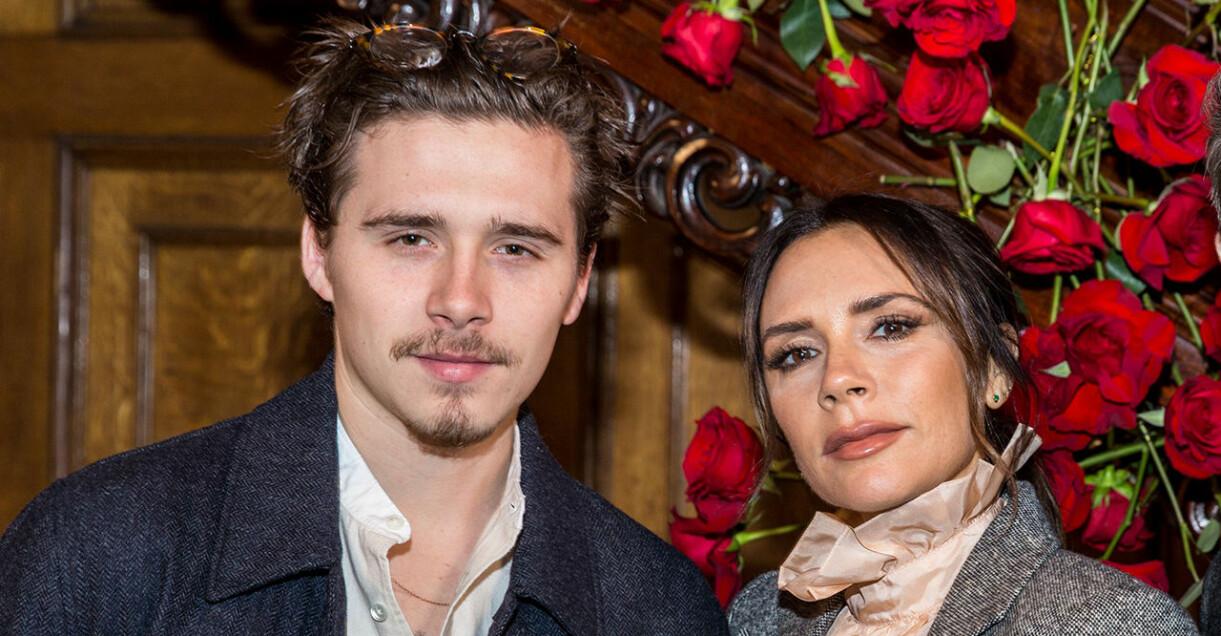 Victoria Beckham verkar tycka om sonen Brooklyns fästmö Nicola Peltz.