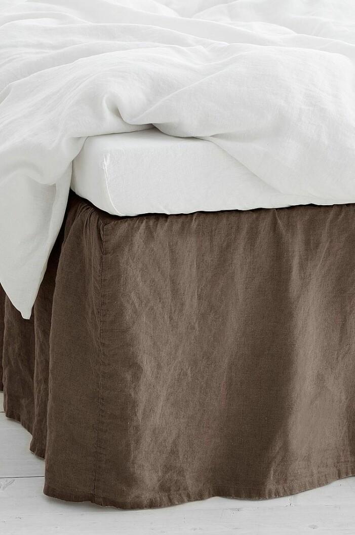 brun sängkappa