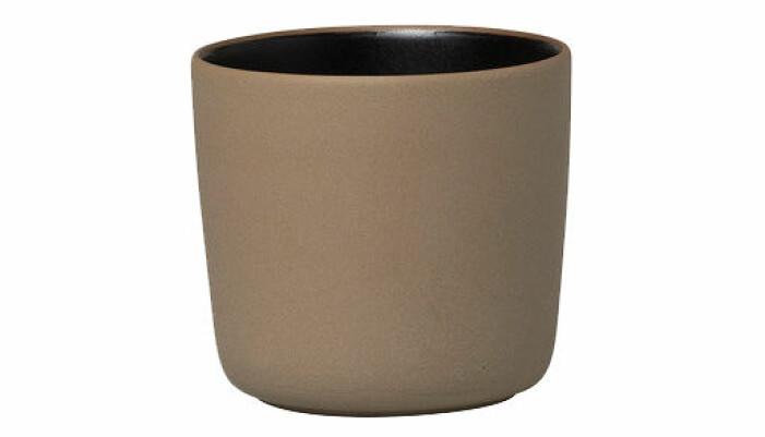 brun kaffekopp