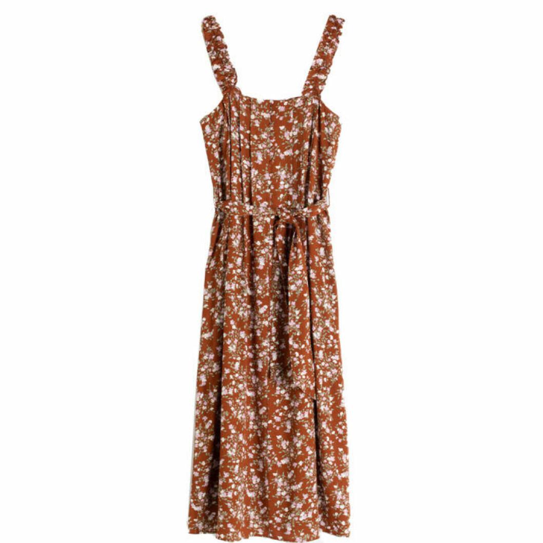 Brun klänning till midsommar