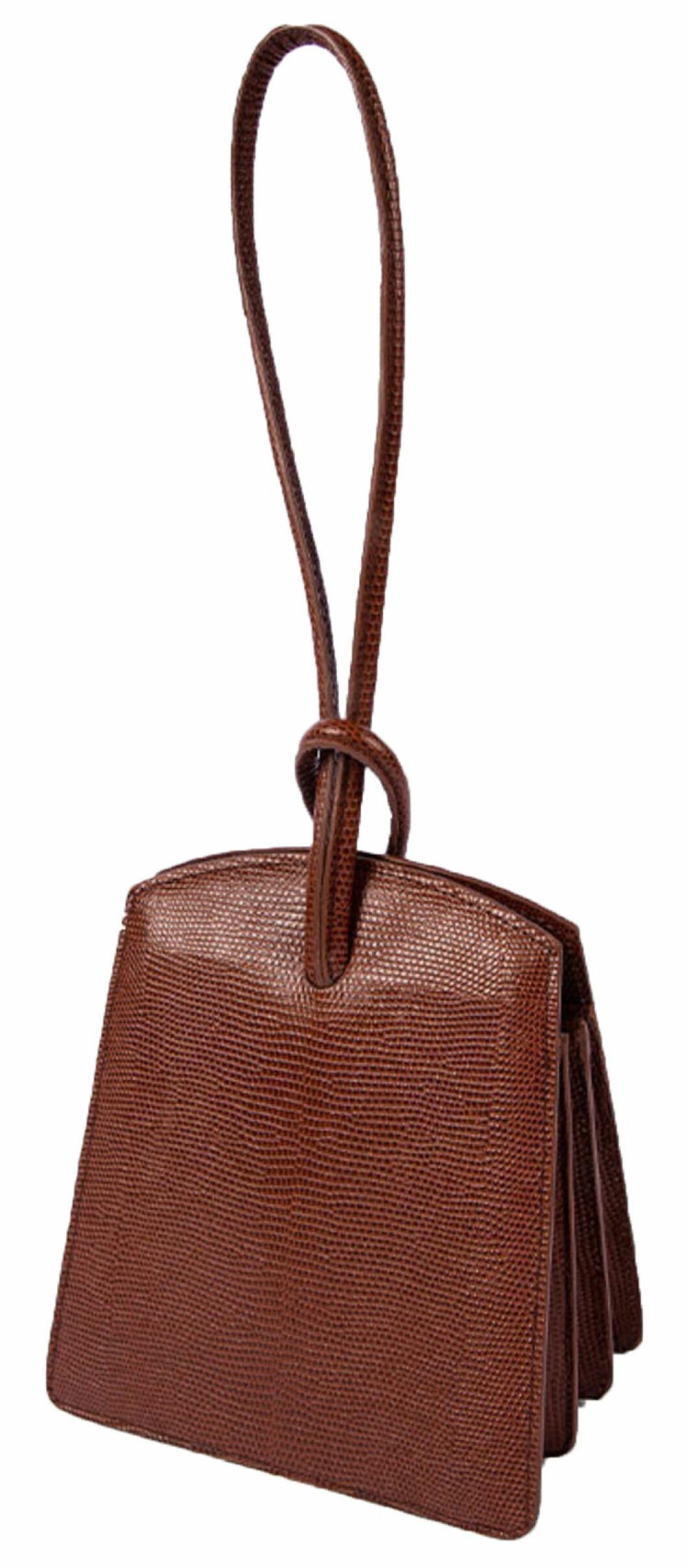 brun väska från Little Liffner.