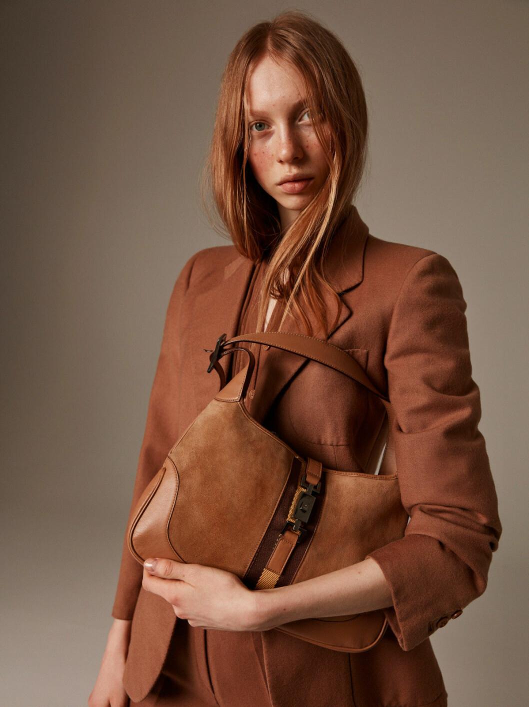 Brun väska från Gucci