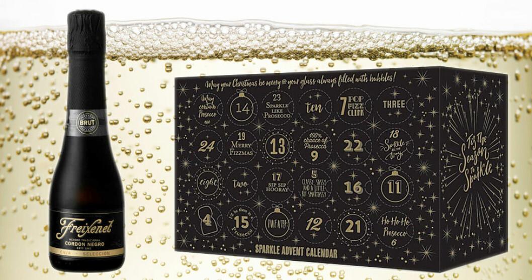 Bubbelkalender från The Pop Stop , ca 1 300 kr.