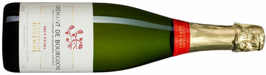 Crémant de Bourgogne Brut Extra.