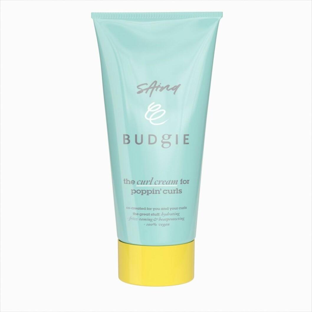 The curl cream, Budgie x Saina Chune.