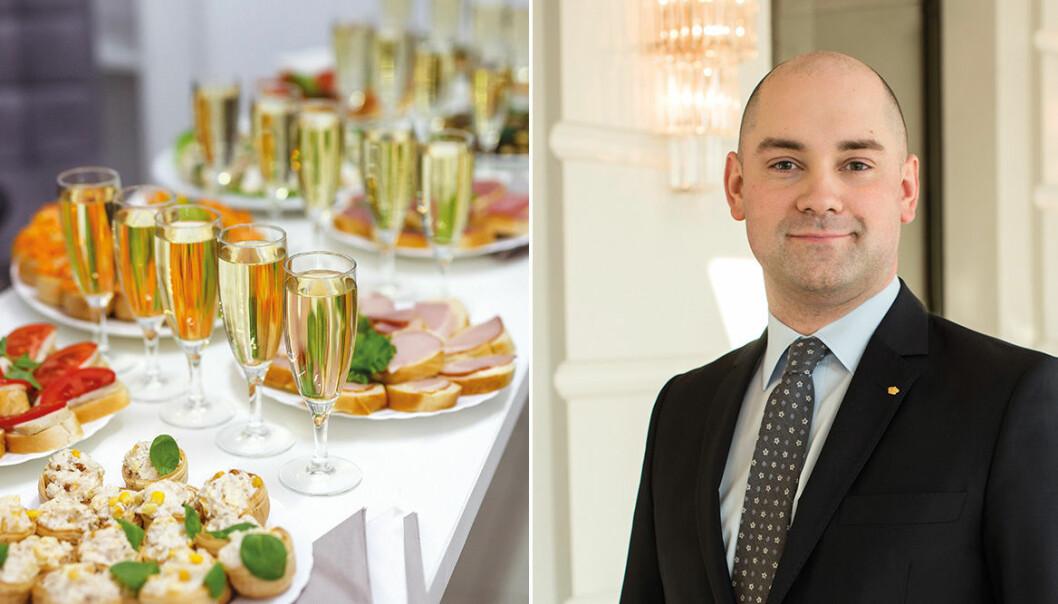 Karl Persson är källarmästare på Grand Hôtel.