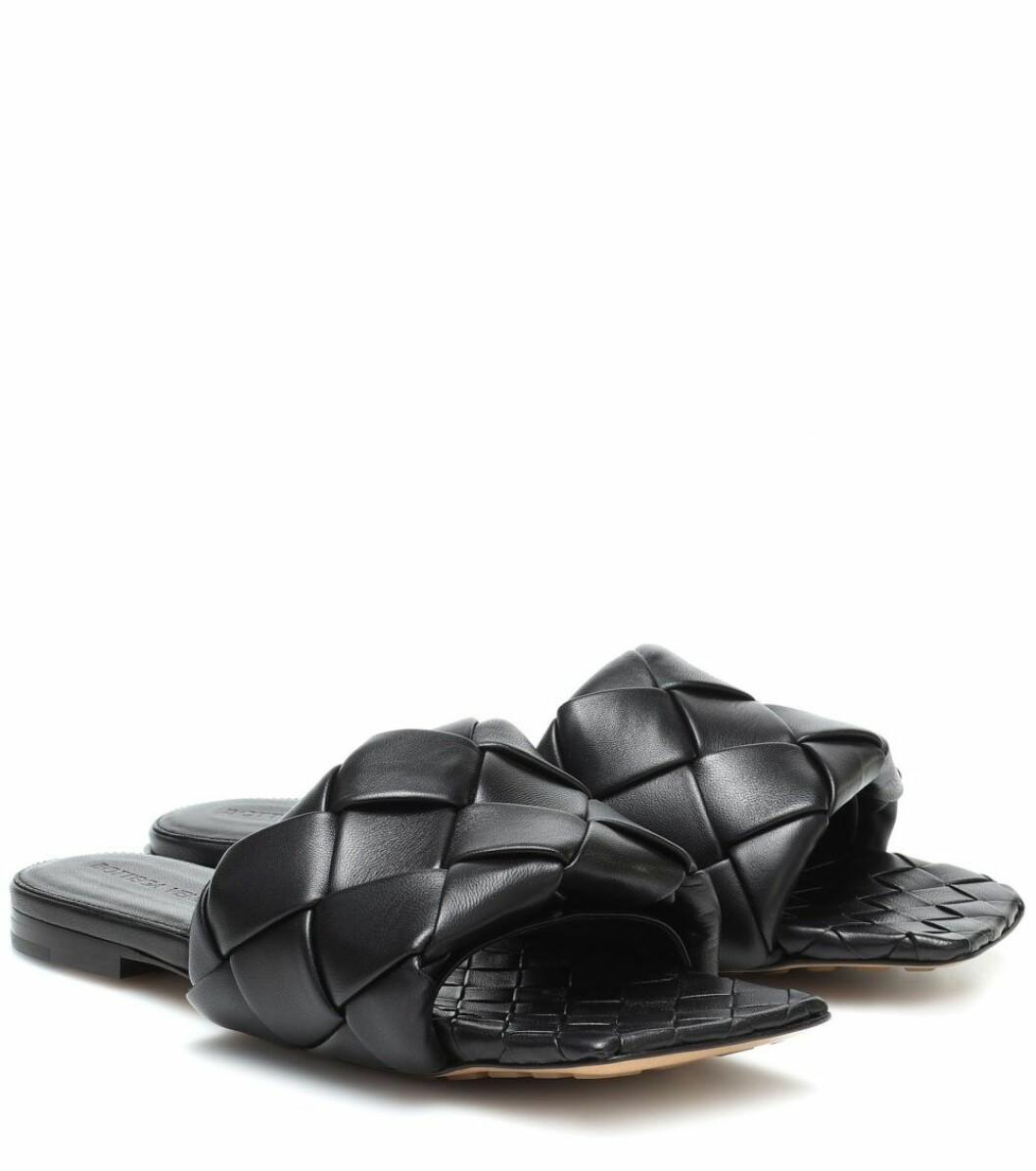 Flätade sandaler från Bottega Ventea.