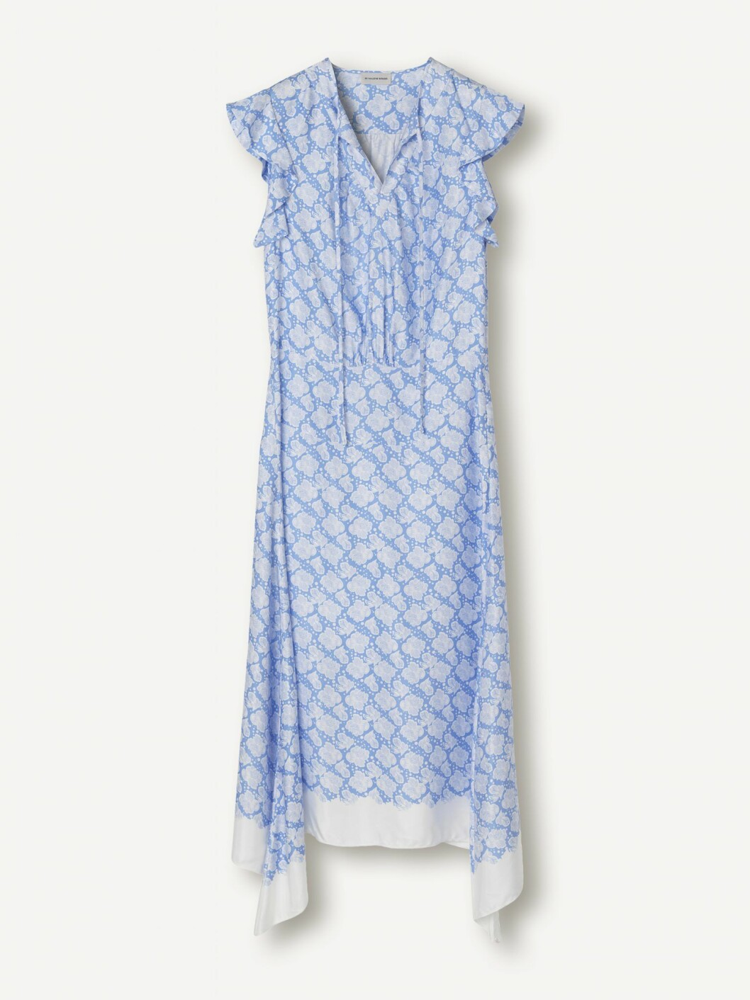 Blå klänning från By Malene Birgers kläduthyrning i Sverige