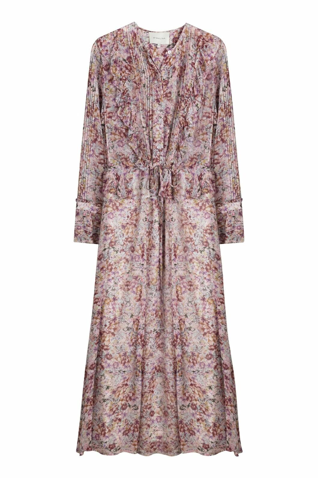 By Malina höstkollektion 2020: blommig maxiklänning