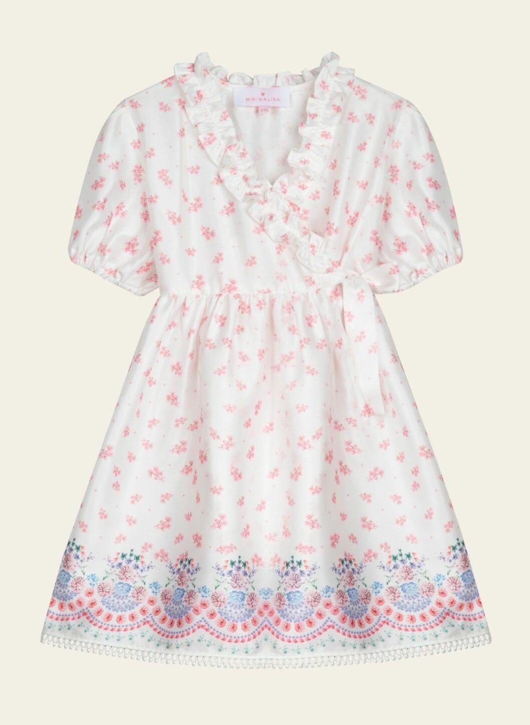 Mini Malina Collection: Blommig klänning för barn