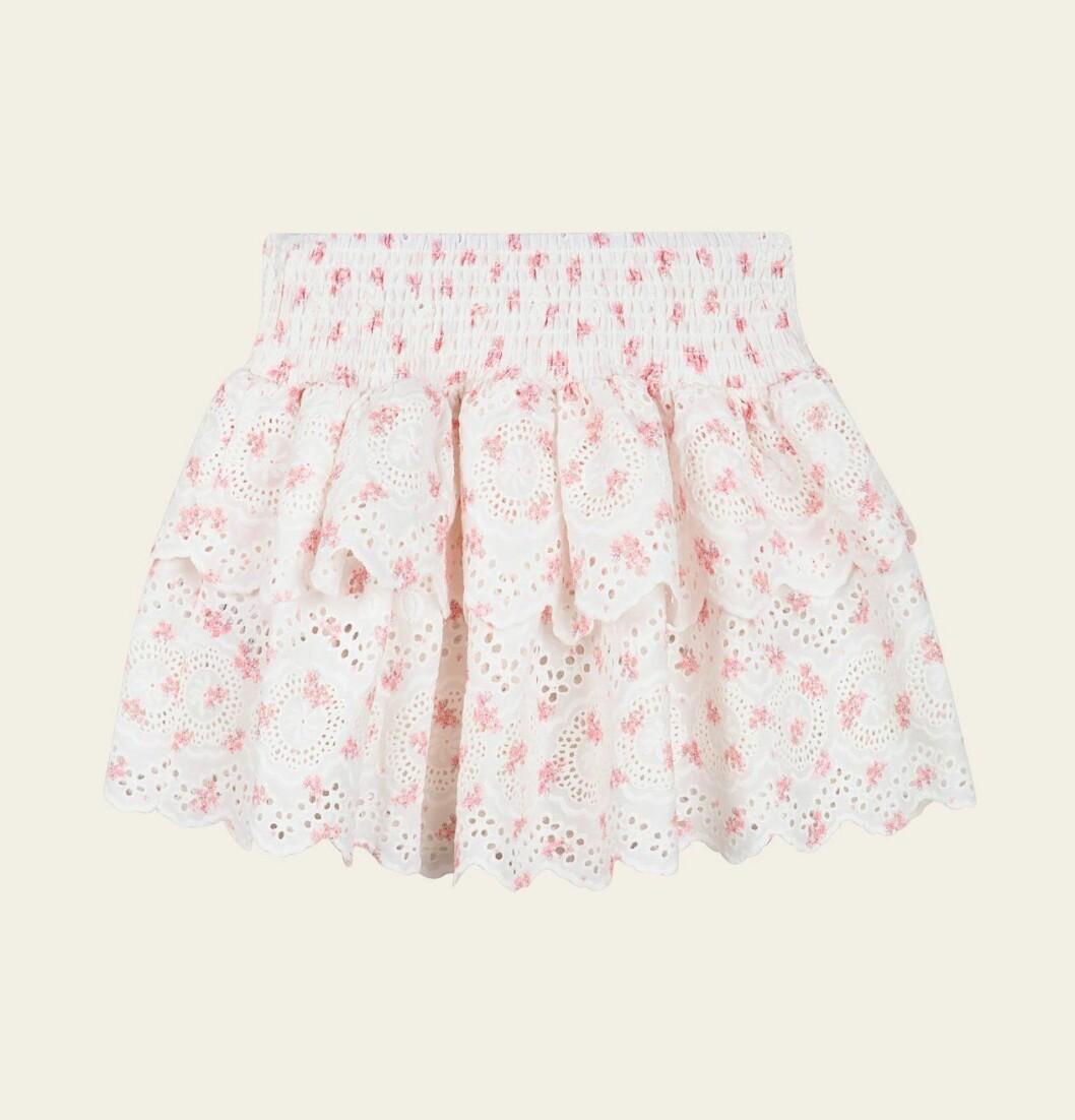 Mini Malina collection 2020: blommig kjol för barn
