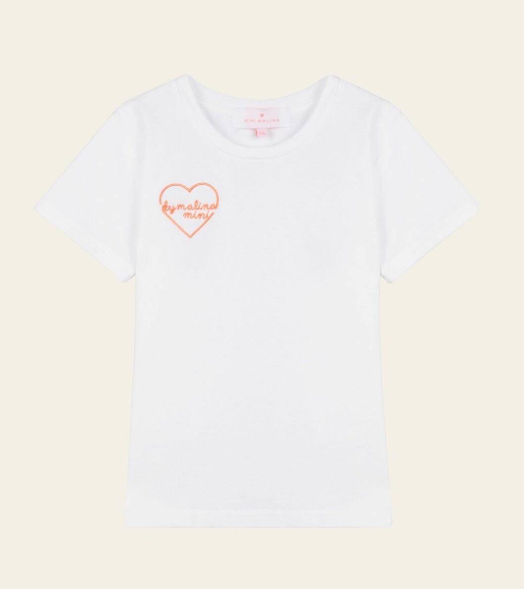 Mini Malina collection 2020: Vit t-shirt för barn