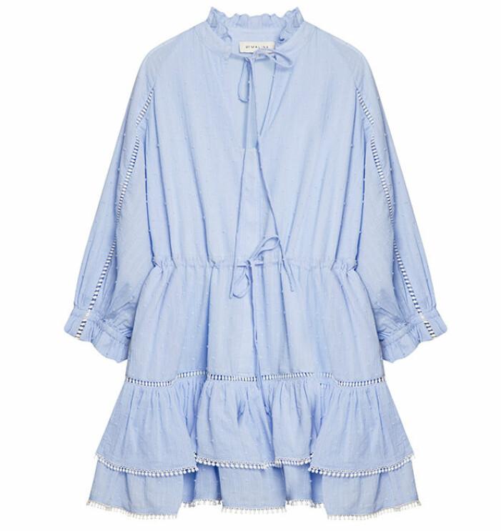 Blå klänning By Malina