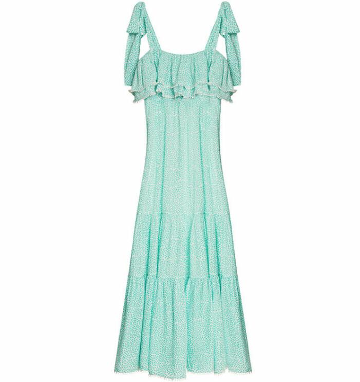 Grön klänning By Malina