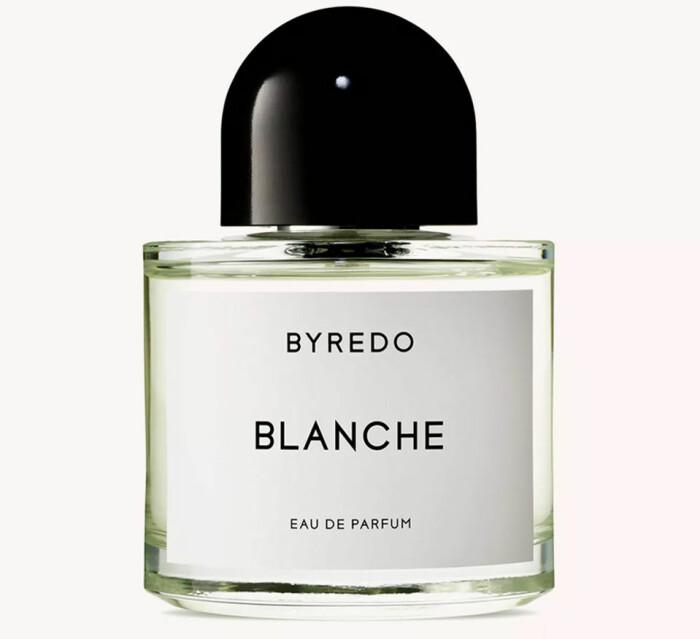 byredo blanche doftar nytvättat rent fräscht parfym
