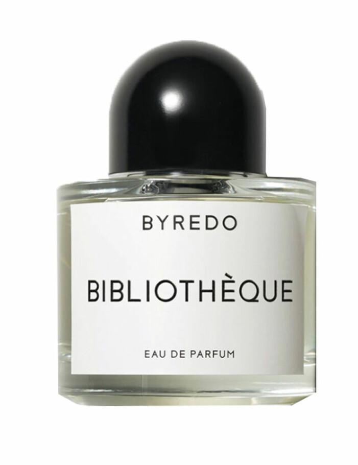 parfym bibliothèque från byredo