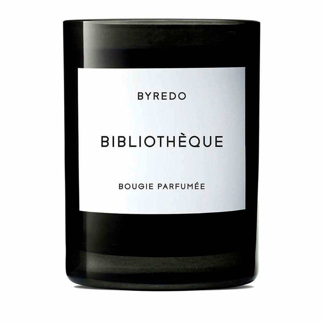 Lyxigt doftljus från Byredo