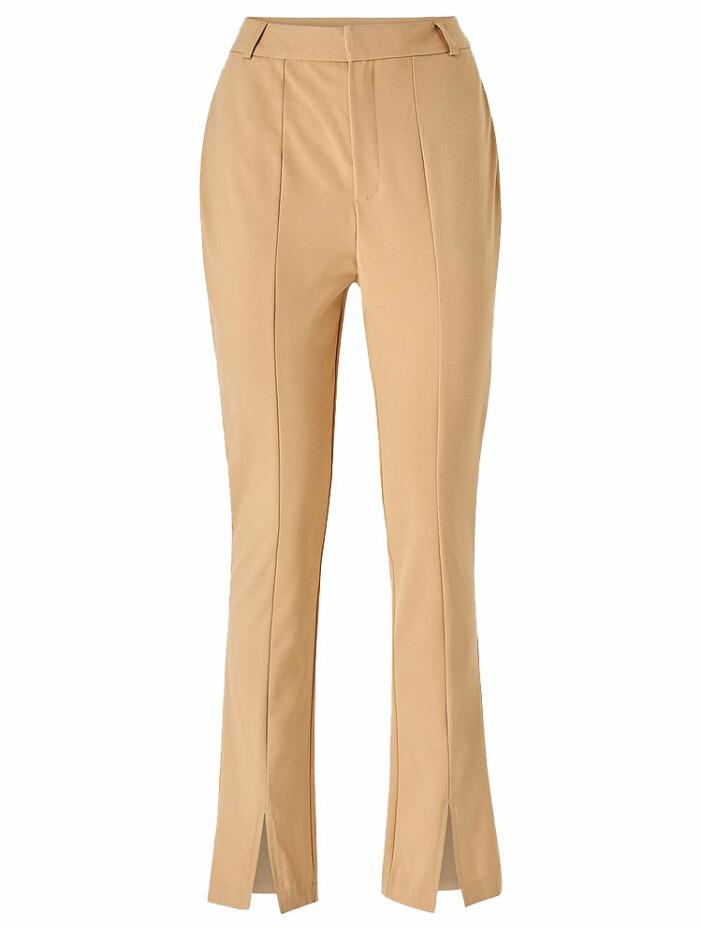beige byxor med slits