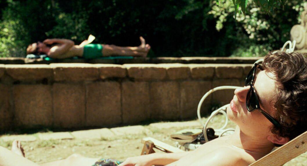 En bild från filmen Call Me By Your Name.