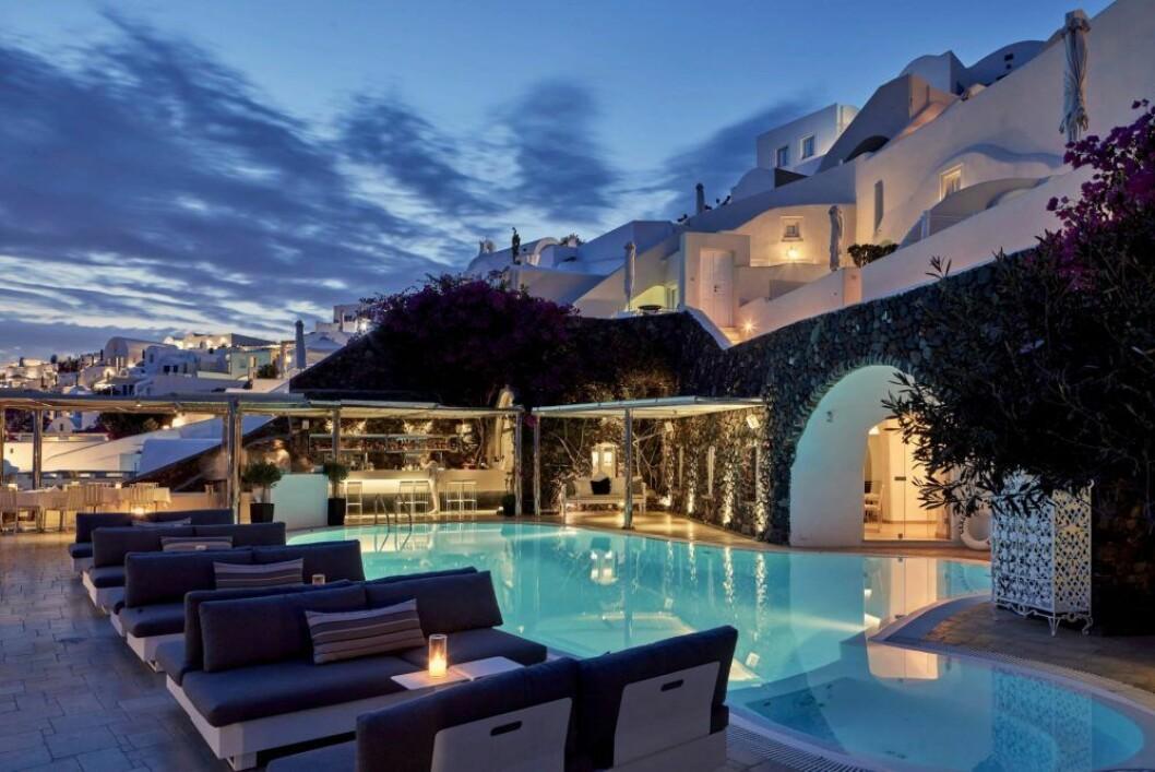 Canaves Oia Suites på Santorini