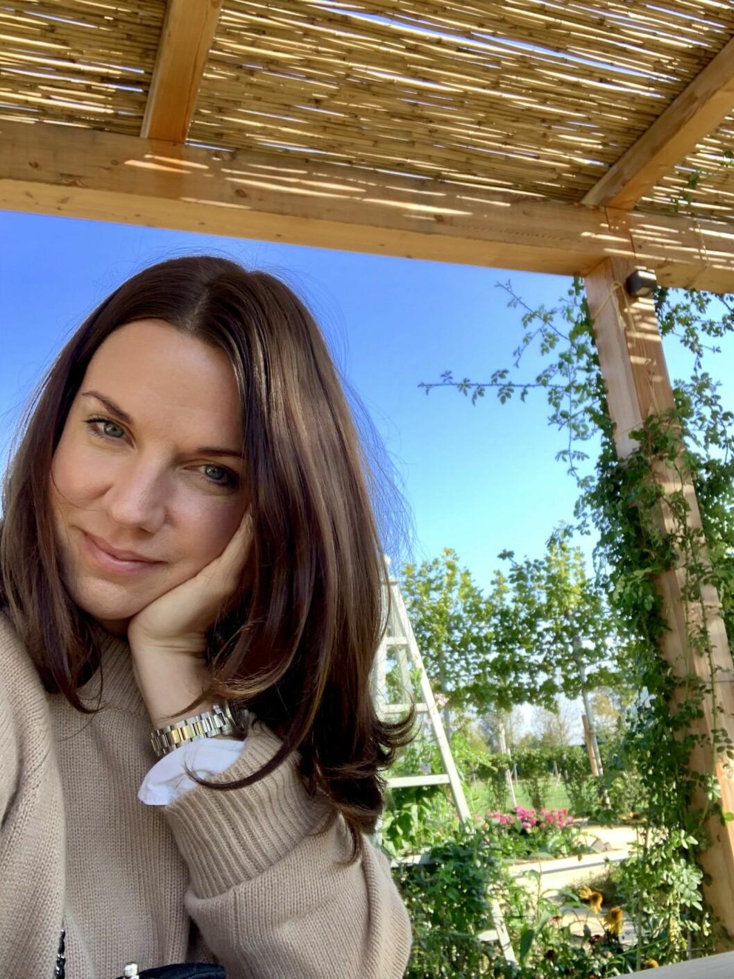 ELLEs beautyredaktör Carin Hellman