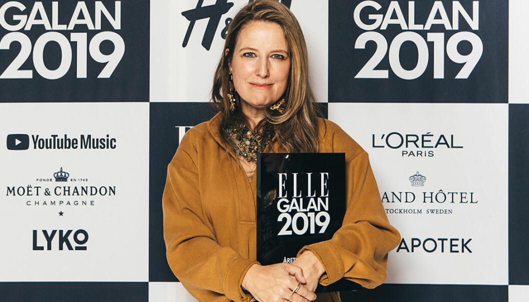 Årets designer 2019 är Carin Rodebjer.