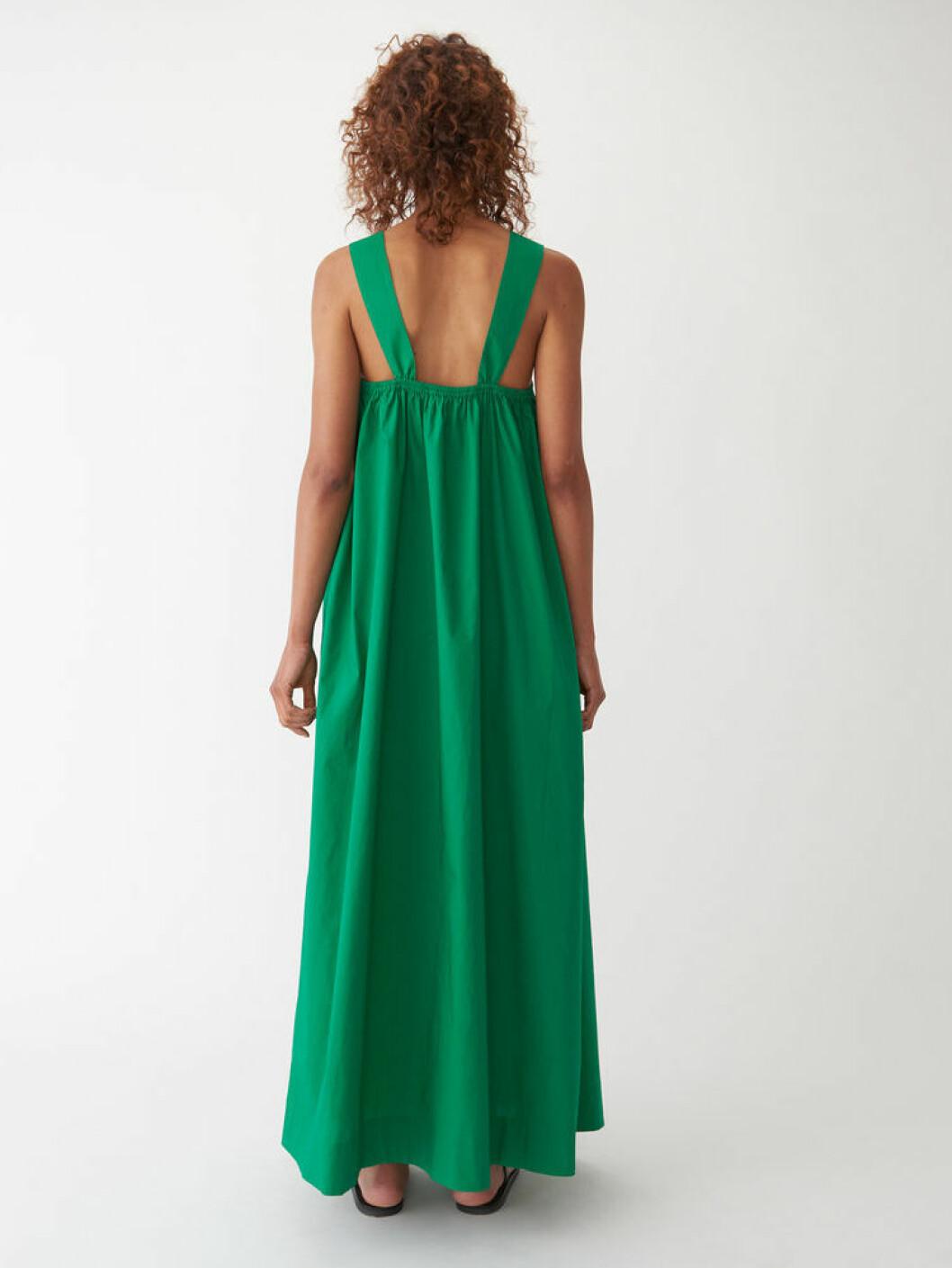 Grön klänning från Carin Wester