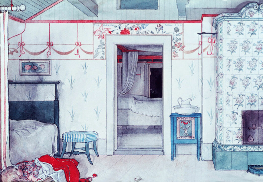 Carl Larssons sovrum