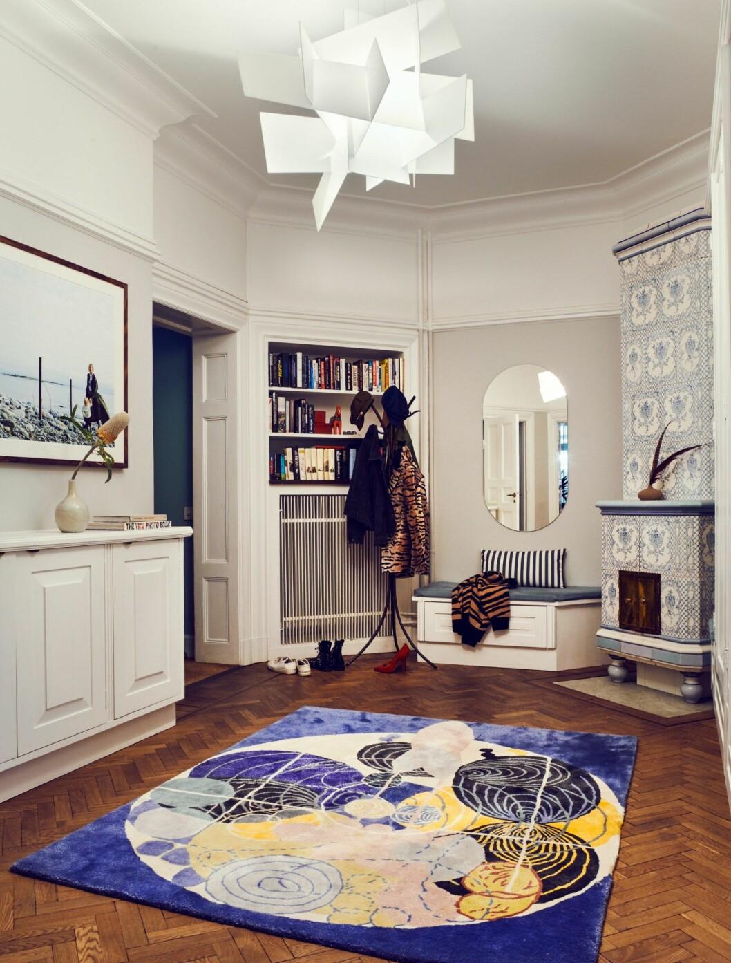 Hall hemma hos modellen och programledaren Caroline Winberg i Stockholm