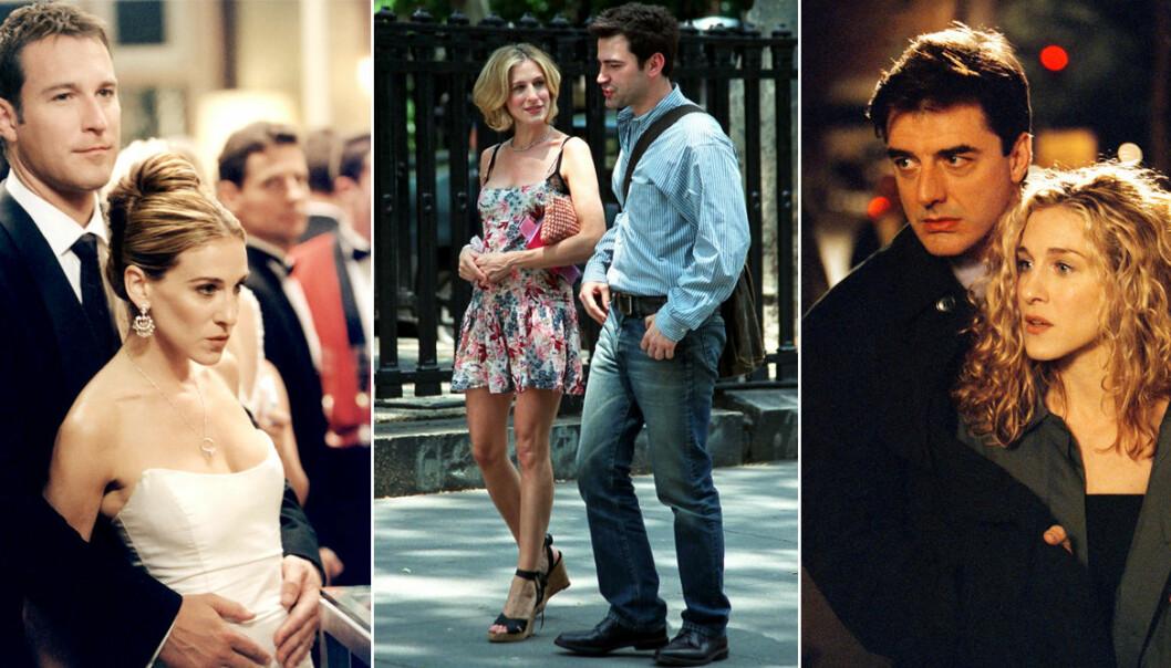Carrie Bradshaws pojkvänner i Sex and the city rankade från värst till bäst