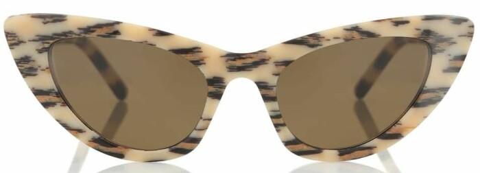 cat eye solglasögon från saint laurent.