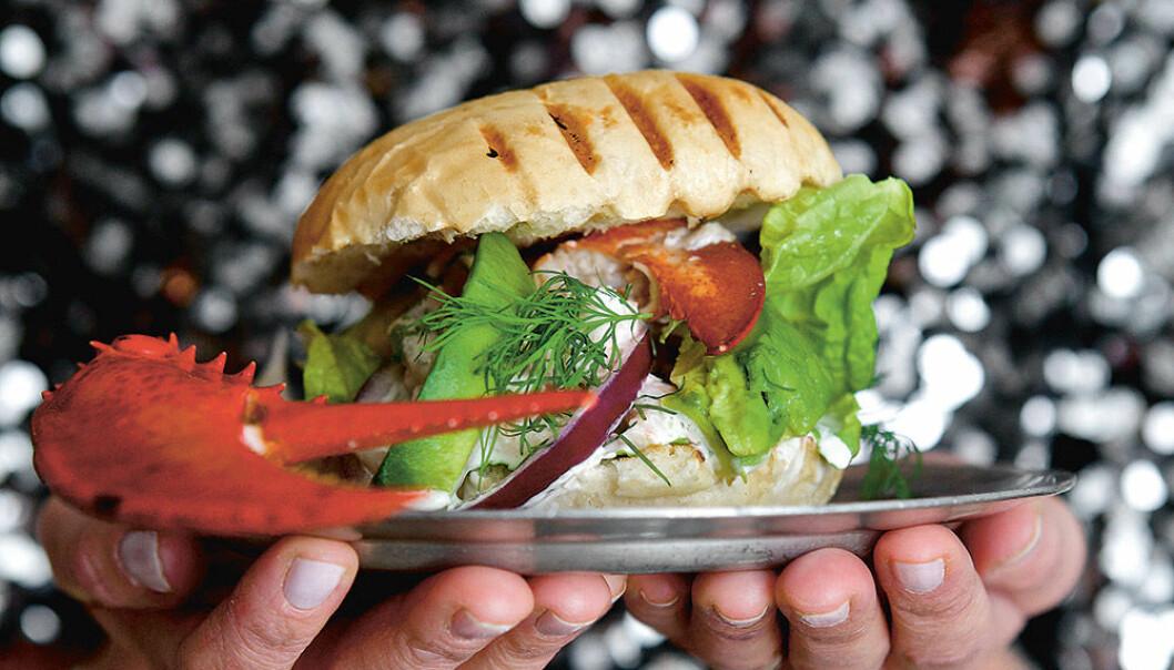 Hummer burger deluxe av Catarina König.