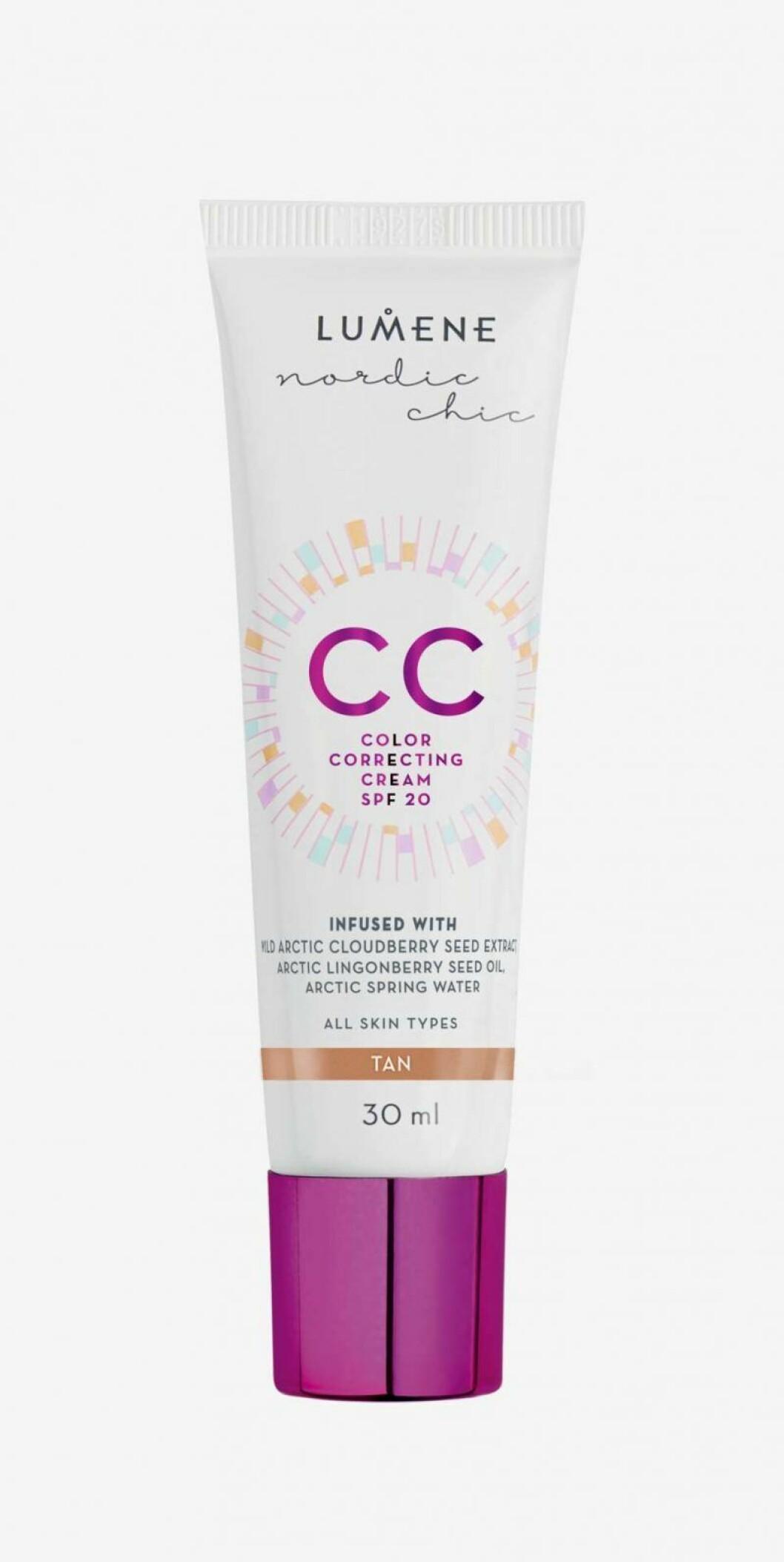 CC color correcting cream från Lumene.