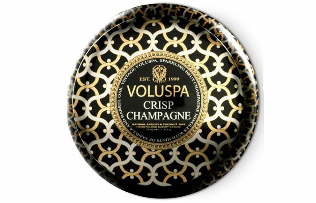 champagne doftljus voluspa