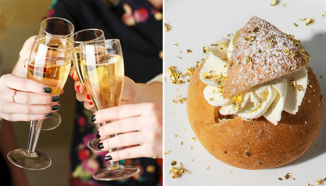 Grand Hôtel lanserar lyxig champagnesemla.