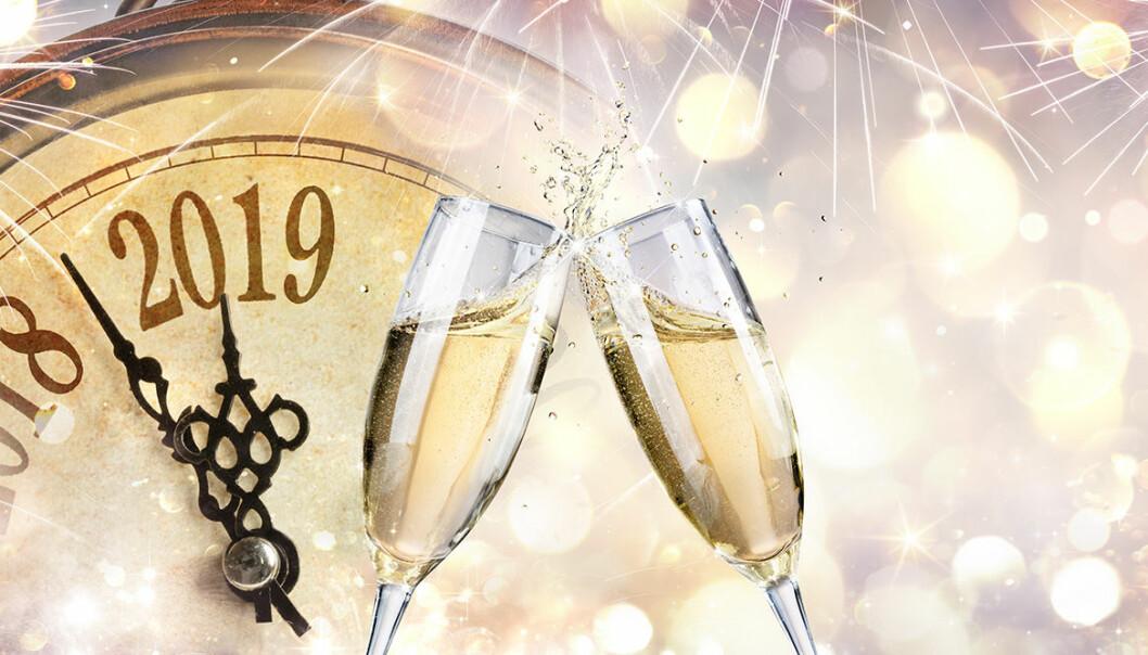 Vänta inte med champagne till tolvslaget!