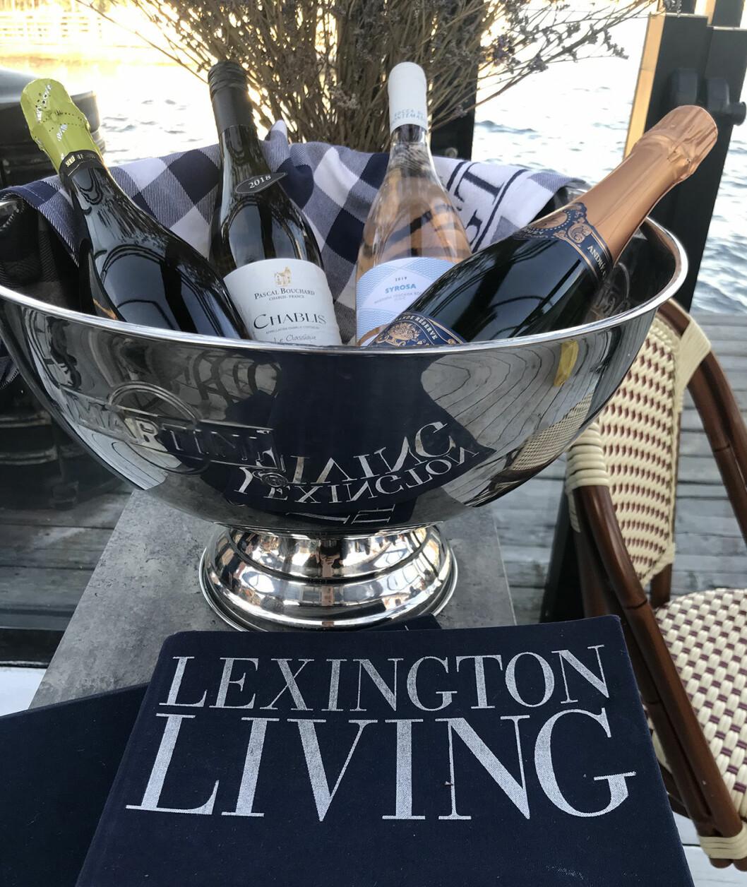 Champagneskål Lexington Pontonen