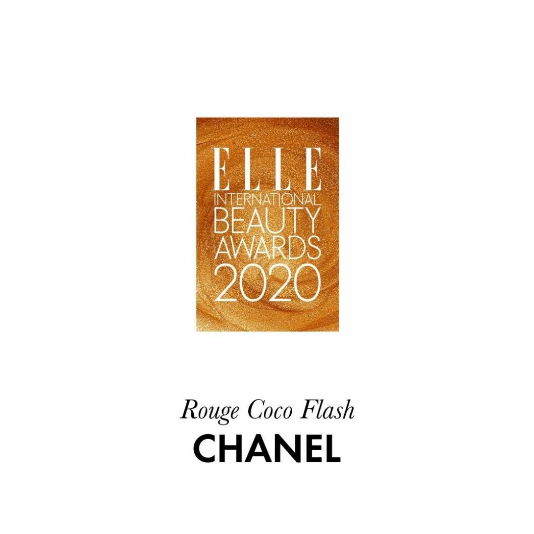 Årets produkt för läpparna Le rouge Coco flash från Chanel.