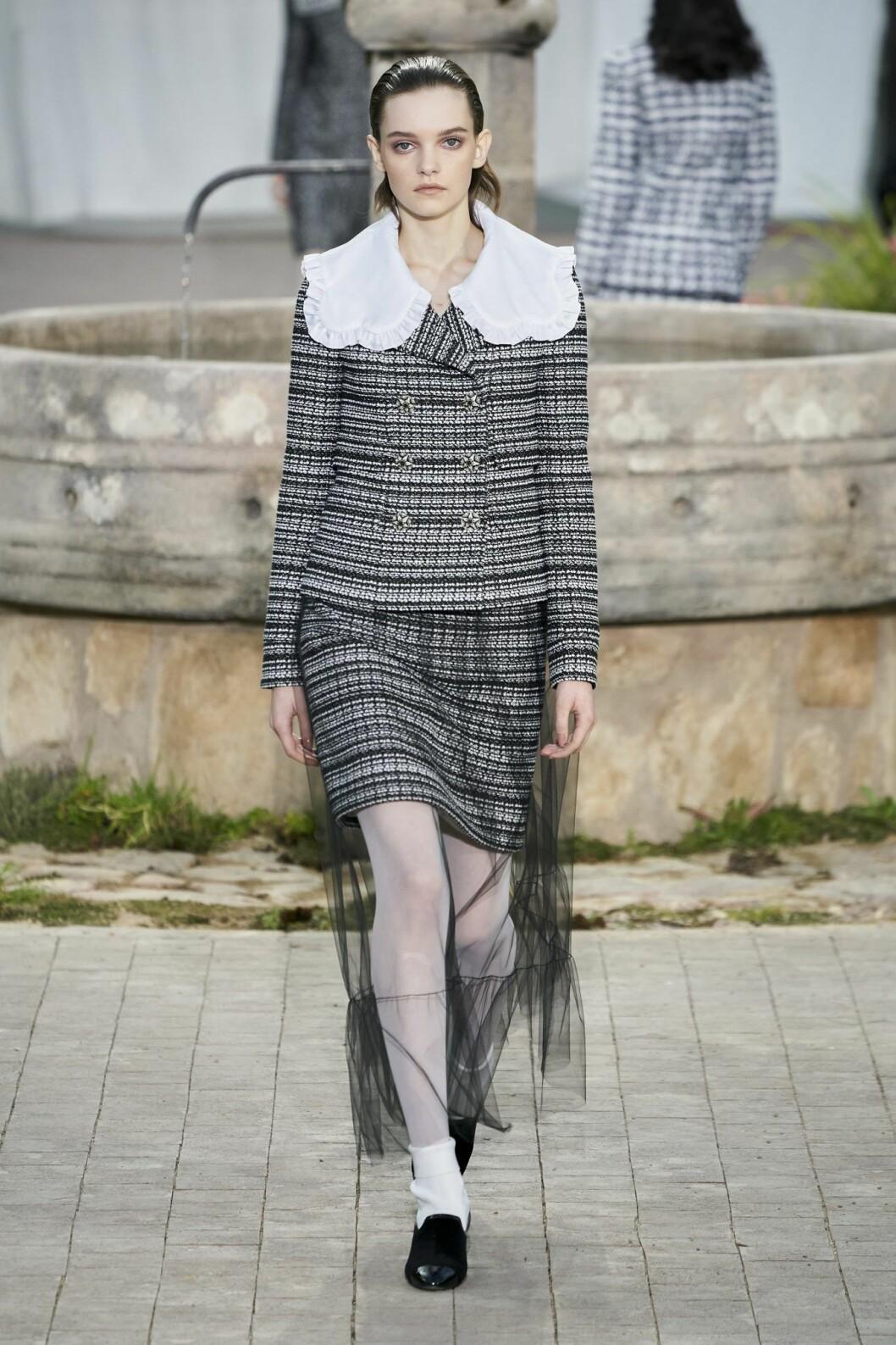 Inspiration från Chanel Haute Couture 2020.