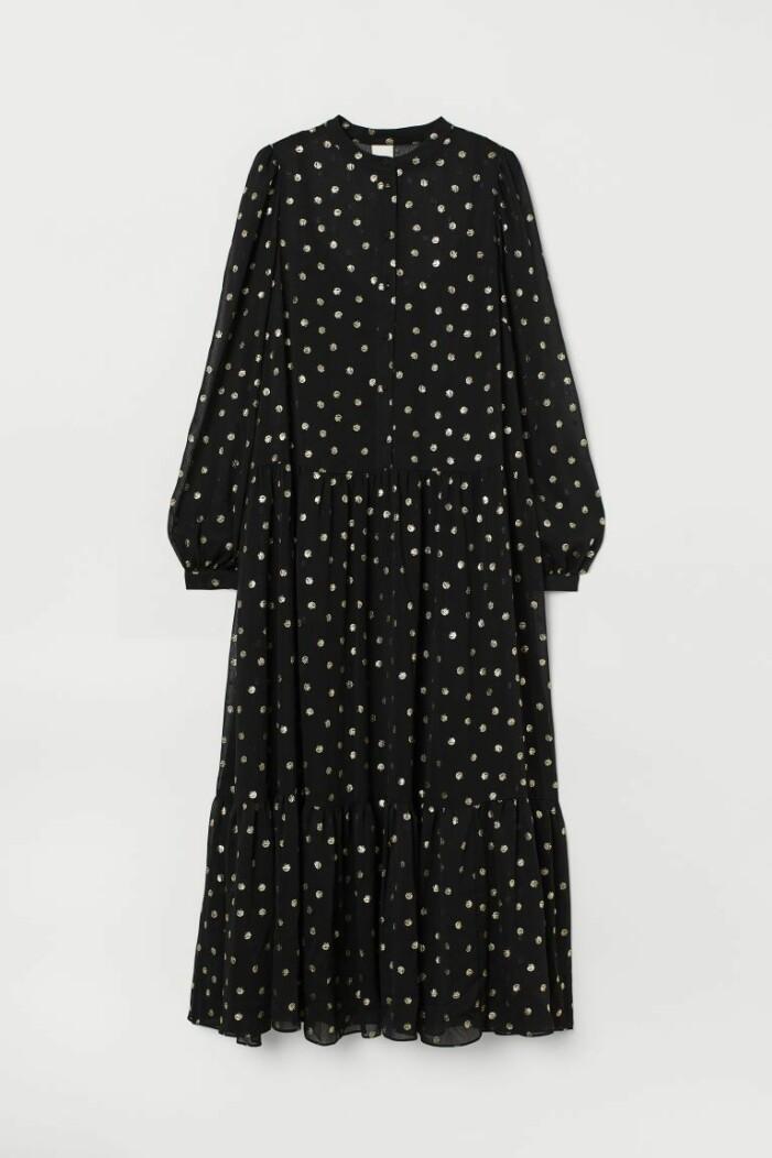 chiffongklänning H&M